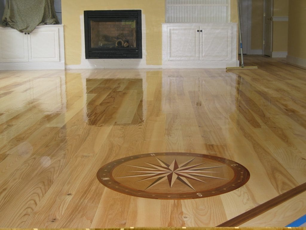 Krikorian hardwood floors - Inlay hardwood flooring