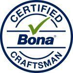 Krikorian hardwood floors is a certified Bona Craftsman